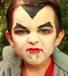 Make up tutorial Halloween: Dracula