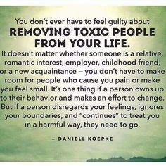 Remove them