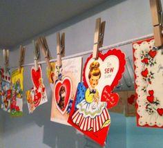 # Vintage Valentines http://adoreyourplace.com/2013/01/19/i-heart-vintage-valentines/