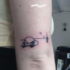 Star Wars tatooine tattoo by Peter Heinrisch
