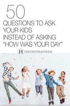 50 questions to ask your kid instead of how was your day. These questions change everything! Parenting Books, Parenting Quotes, Parenting Advice, Kids And Parenting, Natural Parenting, Foster Parenting, Funny Icebreaker Questions, Fun Questions To Ask, Conversation Starters For Kids