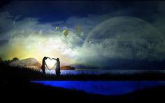 ஐƸ̵̡Ӝ̵̨̄Ʒஐღ Eastern traditions believe that the God of Marriage lives in the moon and when someone asks him to find their perfect partner or soulmate, or to help to heal an existing relationship,it is believed that he will respond in a positive manner. Place an image of a full moon in the 'Romance/Relationship' area of the bedroom (far back right-hand corner) and to leave it there for at least 27 days, or until the bright light of your dreams walks into your life.