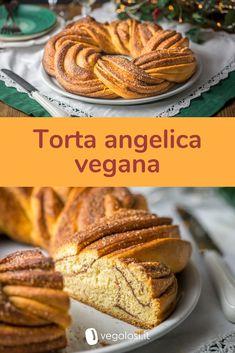 Torta angelica vegana Vegan Dishes, Vegan Desserts, Delicious Desserts, Vegan Recipes, Tortillas Veganas, Happy Vegan, Good Food, Yummy Food, Vegan Baking