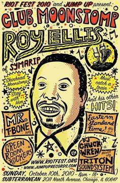 Roy Ellis of Skinhead Reggae Superstars Symarip to perform at Riot Fest in Chicago on October 10th