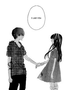 """Find and save images from the """"Anime // Manga collection by 幸せな天使 (Happy_Tenshi) on We Heart It, your everyday app to get lost in what you love. Manga Anime, Sad Anime, Kawaii Anime, Manga Couple, Anime Love Couple, Anime Girl Cute, Anime Art Girl, Manga Drawing, Manga Art"""