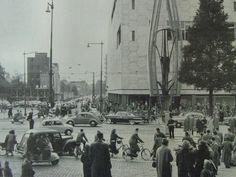 Bijenkorf, Coolsingel. Opening Bijenkorf 19 maart 1957.