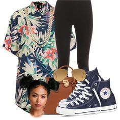 Untitled #111 by cemoran on Polyvore featuring polyvore, fashion, style, Motel, Splendid, Converse, Michael Kors, BaubleBar and Ray-Ban