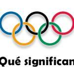 Olimpiadas... Historia para niños.