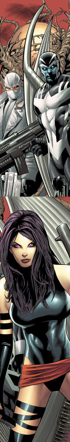 Psylocke & Archangel  Auction your comics on http://www.comicbazaar.co.uk