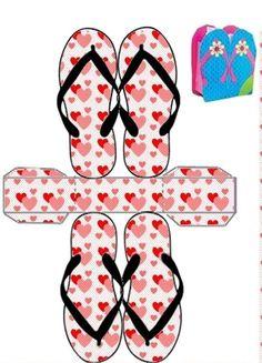 High Heel Shoe Keepsake Favor Gift Box OOAK 3 pc set Dress up party gifts Diy Gift Box, Diy Box, Paper Box Template, Paper Purse, Printable Box, Printables, Box Patterns, Craft Box, Pattern Paper