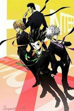 Hunterxhunter <3 | hunterxhunter | hunter x hunter | anime | manga | gon | leorio | killua | kurapika