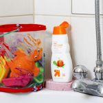 DIY bath organizer | hellonatural.co