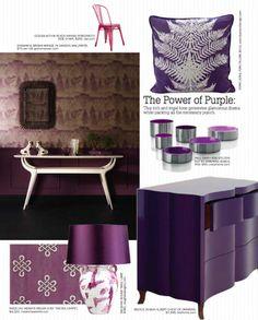 Purple dresser? very bold.