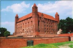 Zamek w Gniewie / Teutonic castle in Gniew, XIII-XIV c.