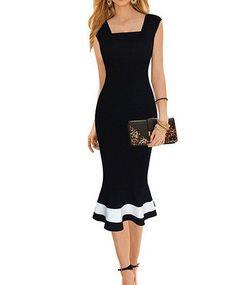 Vintage Midi Sheath Dress