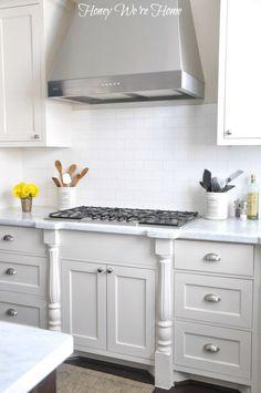 Honey We're Home - White Kitchen