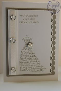 Stampin' Up! Hochzeit, Zum schönsten Tag im Leben, Wedding, Love & Laughter, Itty Bitty