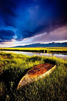 AAfter The Rain...A Boat by Dan Ballard Photography