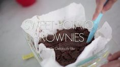 A Must-Try - This Sweet Potato Brownie Recipe is to DIY for!