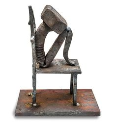 """Scultura della collezione""""Bolt Poetry"""" diTobbe Malm n.06"""