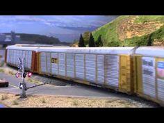 Plastico treni Nord Americani