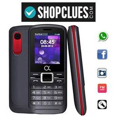 Alpha Buddy Dual Sim Mobile Phone with whatsapp & facebook at Rs.749 – Shopclues