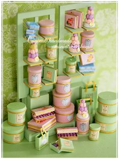 ~ handmade furniture living color natural: miniature * macaroon shop