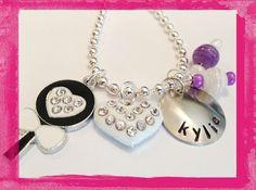 Loving Lollipops Charm Necklace for Girls