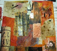 How To: Mixed Media Collage Art! Step by step instructions on how to make these works of art! Can't wait to try!