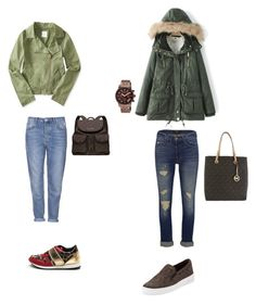 """""""..."""" by luhhbitts on Polyvore featuring Aéropostale, Topshop, J Brand, MICHAEL Michael Kors and Michael Kors"""