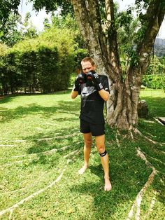 POW     Boxing is a great way to build cardio endurance plus Michiel loves it!   It also helps with his arm rotation and strength for swimming!  // More info @ http://ift.tt/2ll8yBu