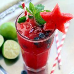 Watermelon Blueberry Mojito – The Perfect Sundowner | The Clean Dish