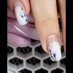 Nail Art Designs Videos, Nail Art Videos, Maroon Nails, Yellow Nails, Nail Art Pen, Cool Nail Art, Elegant Nail Art, Cute Acrylic Nail Designs, White Acrylic Nails