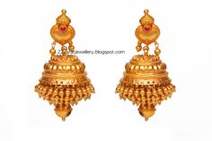 Designer Gold Earrings From Josco Jewellers   Jewellery Designs