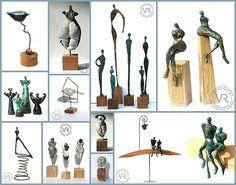 Sculptures de Vanessa Renoux