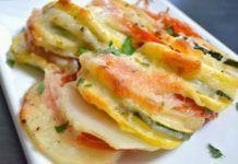 Λαχανικά στο φούρνο(3 μονάδες)