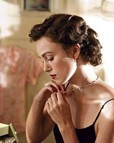finger waves hair, classic make up