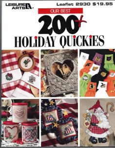 Our Best 200+ Holiday Quickies - Cross Stitch - Leisure Arts