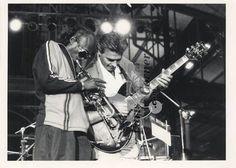Miles Davis and John McLaughlin