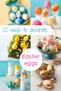Easter crafts: 22 easy (and inexpensive!) ways to decorate Easter eggs