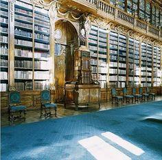 Candida Höfer, Strahovska knihovna Praha III