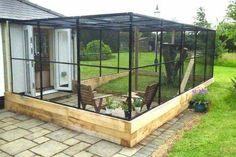 Best Quality Cat Enclosures And Cat Tunnels Ideas 15 - meowlogy Outdoor Cat Enclosure, Rabbit Enclosure, Reptile Enclosure, Cat Run, Cat Cages, Cat Tunnel, Cat Condo, Outdoor Cats, Outdoor Cat Cage