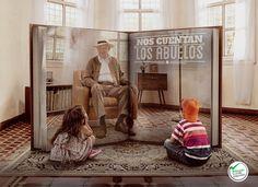 Grandparents stories on Behance