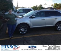 https://flic.kr/p/wmE8au | #HappyAnniversary to Kristin and your new car from Everyone at Hixson Ford of Monroe! | www.deliverymaxx.com/DealerReviews.aspx?DealerCode=M553