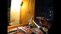Cockatoo Tutorial - Lampwork, Flamework, Glassblowing Part 2, via YouTube.