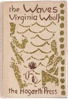 "Cover of the First Edition of ""The Waves,"" circa 1931. #virginiawoolf"