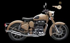 Royal Enfield Desert Storm: at last settled for this one Royal Enfield Wallpapers, Bullet Bike Royal Enfield, Enfield Motorcycle, Enfield Classic, Sand Painting, Quilted Table Runners, Paint Schemes, Wwii, Deserts
