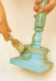 Faux Painting Techniques   I could do so many thrift store projects with this! Lace Painting, Painting Tips, Paint Furniture, Furniture Makeover, Furniture Refinishing, Candlestick Crafts, Faux Painting Techniques, Home Crafts, Diy Crafts