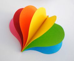how to make rainbow spinners :::whizzing around :: shutter speed::::: Paper Rainbow Makers :::::