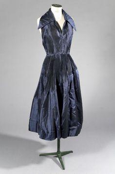 Maggy ROUFF Haute Couture, circa 1950/55 ROBE